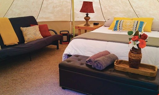 Product image for Adirondack Safari Company $169 For A 2-Night Luxury Camping Experience (Sunday-Thursday) (Reg. $338)