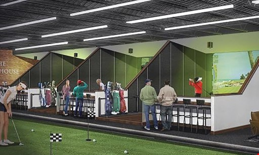 Product image for The Clubhouse $27.50 For 1 Hour Of Indoor Golf For Up To 4 Golfers (Reg. $55)