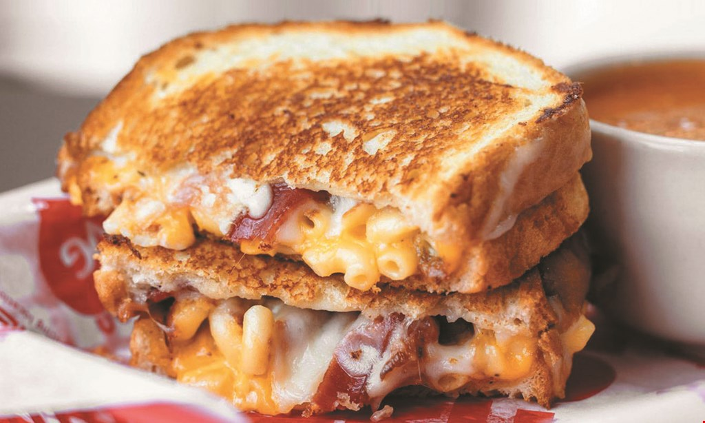 Product image for Tom + Chee - Cleveland $10 For $20 Worth Of Grilled Cheese, Melts, Soups & Salads