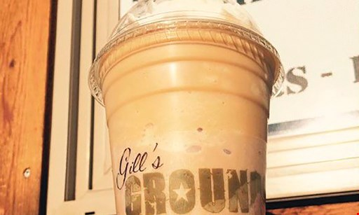 Product image for Gill's Grounds Premium Coffee Shop $10 For $20 Worth Of Smoothies & More