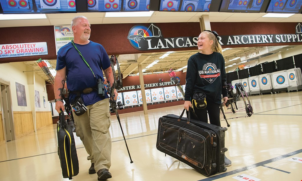 Product image for Lancaster Archery Academy $25 For An Archery Lesson For 2 Including Equipment & Range Time (Reg. $50)
