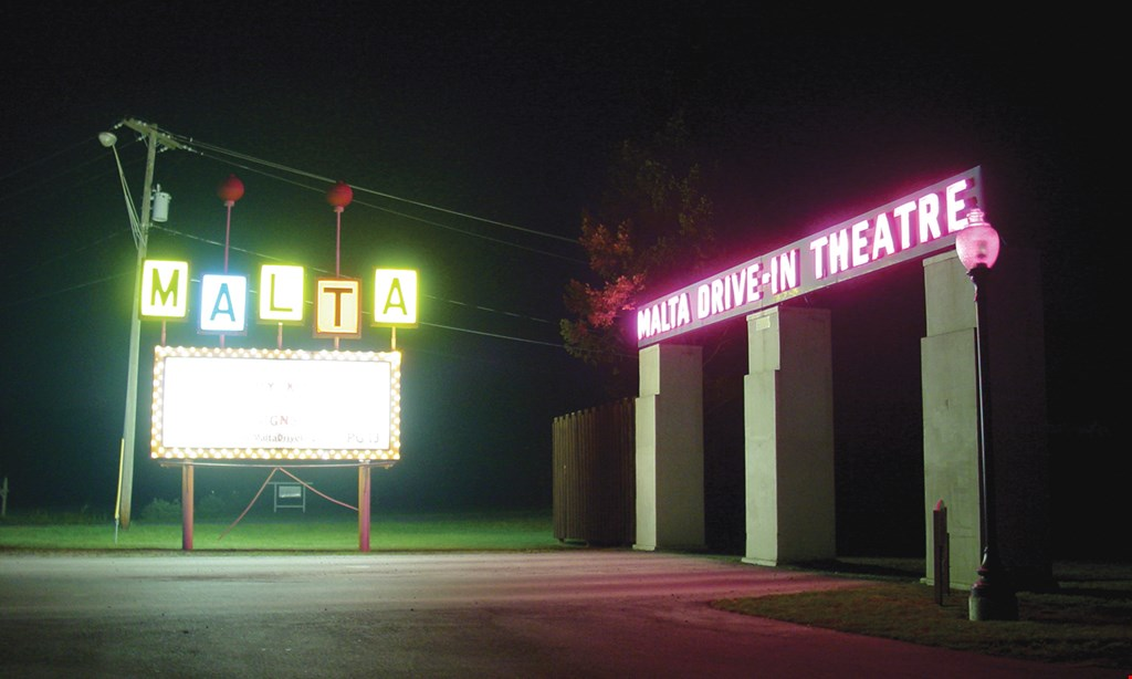 Product image for Malta Drive-In Theater $12 For Admission For 2 Including Medium Popcorn (Reg. $24)