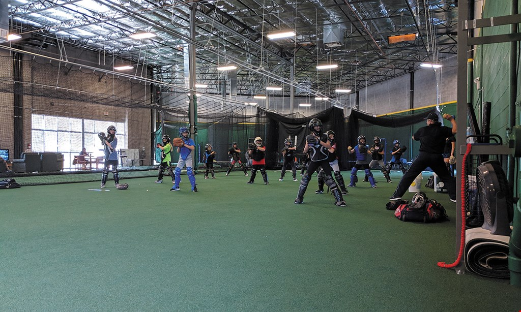 Product image for The Cages Training Facility $22.50 For 1-Hour In A Batting Cage With Pitching Machine (Reg. $45)