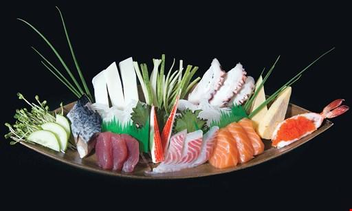 Product image for Japan 77 $20 For $40 Worth of Japanese Hibachi & Sushi