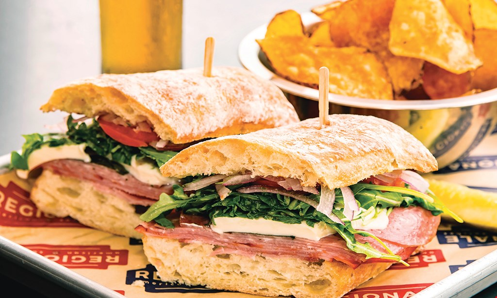 Product image for RegionAle American Sandwiches $10 For $20 Worth Of Casual Dining (Also Valid On Take-out With Minimum Purchase Of $30)