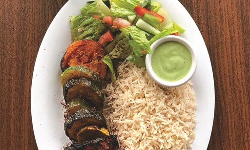 Product image for Sizzle Kabob $10 For $20 Worth Of Kabobs & More (Also Valid On Take-Out W/Min. Purchase $30)