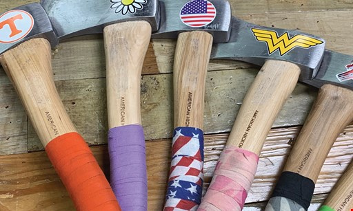 Product image for Smoky Mountain Axe House $20 for $40 Worth of an Amazing Axe Throwing Experience