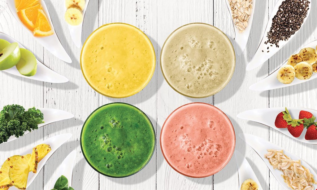 Product image for Tropical Smoothie Cafe $10 For $20 Worth Of Smoothies & Cafe Fare