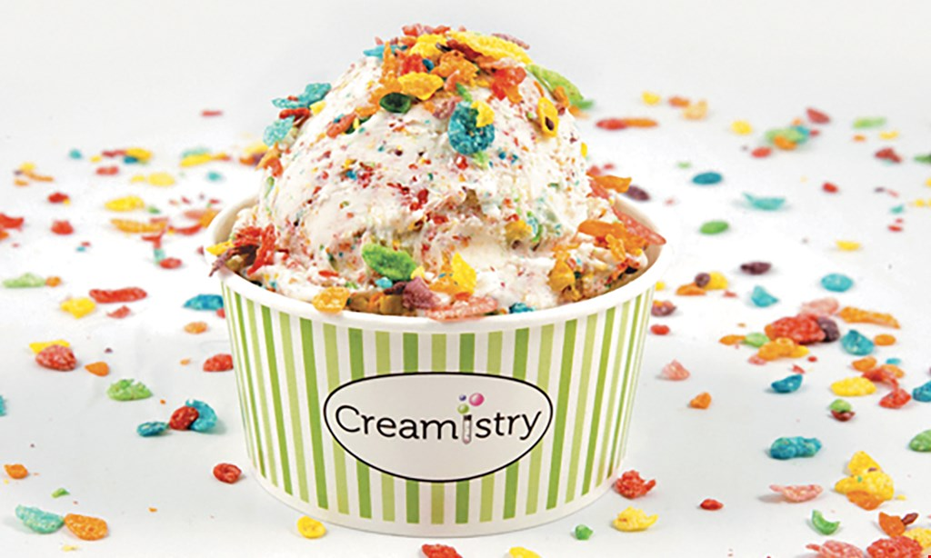 Product image for Creamistry Of Chino Hills $10 For $20 Worth Of Ice Cream Treats & More