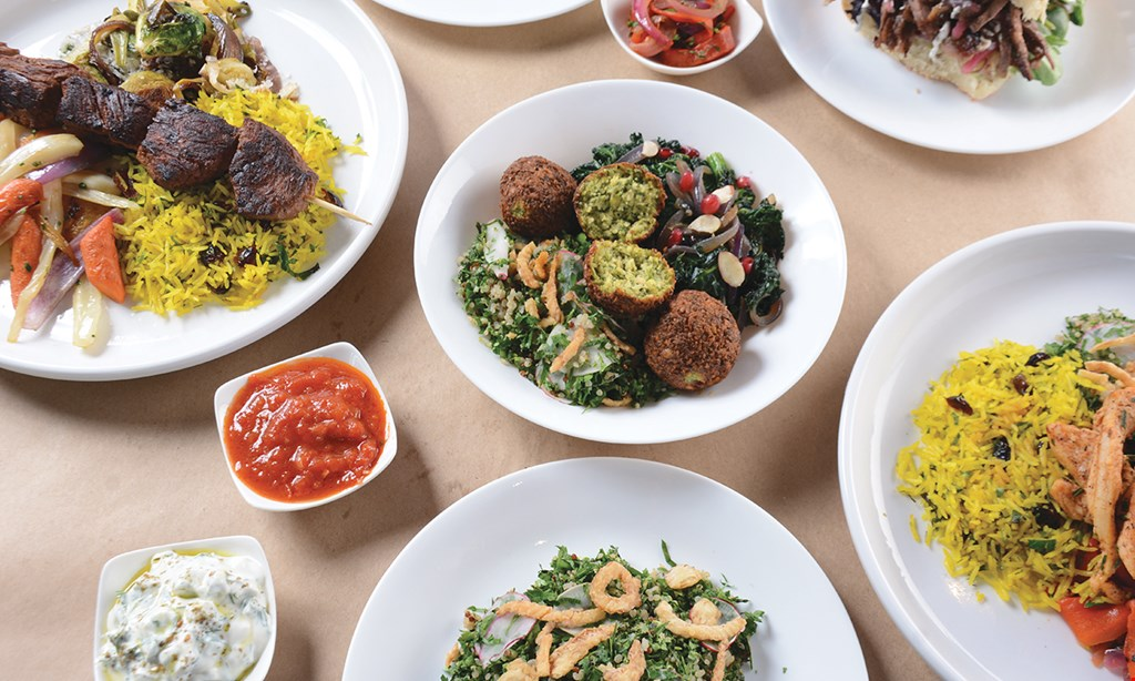 Product image for Spireworks - Upland $10 For $20 Worth Of Mediterranean Cuisine