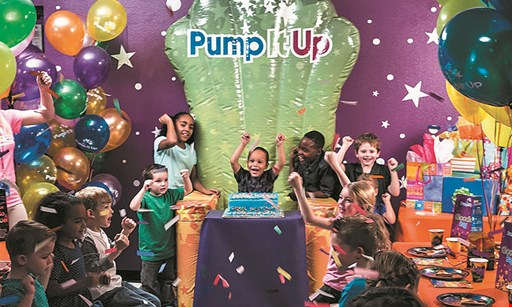Product image for Pump It Up - Piscataway $27.50 For 5 Open Jump Passes (Reg. $55)