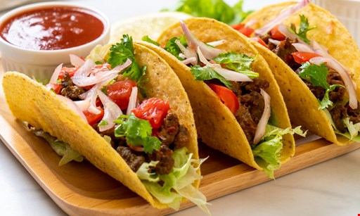 Product image for Main Event Tacos $5 for $10  of Fresh Mexican Food