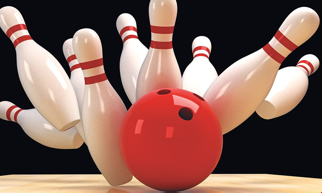 Product image for Seaway Lanes $18.24 For 3 Games For 2 People, Including Shoes, 2 Sodas & 2 Slices Cheese Pizza