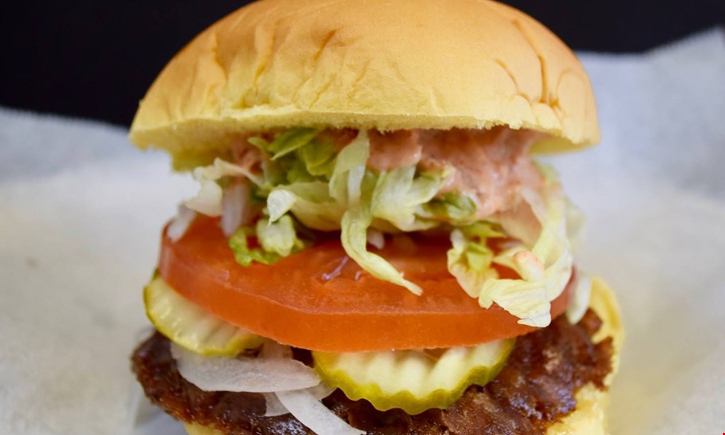 Product image for Tasty's Fresh Burgers - Downtown $5 for $10 Worth of Burgers and More