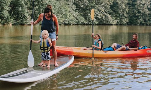 Product image for Norris Paddling Adventures $15 for $30 Worth of Outdoor Rental Fun!
