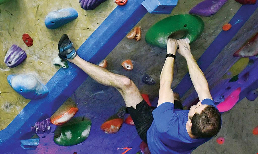 Product image for The Boulder Yard $15 For Admission For 2 To Open Climb Gym (Reg. $30)