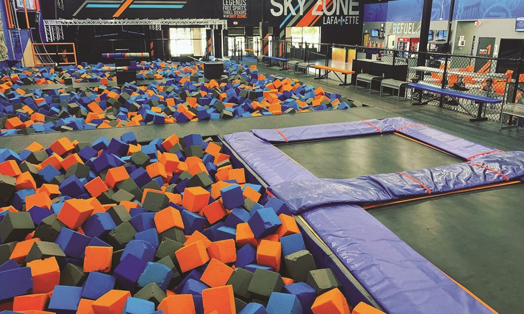 Product image for Sky Zone Lafayette $11 For 90 Minutes Of Flight Time For 1 Person (Reg. $22)