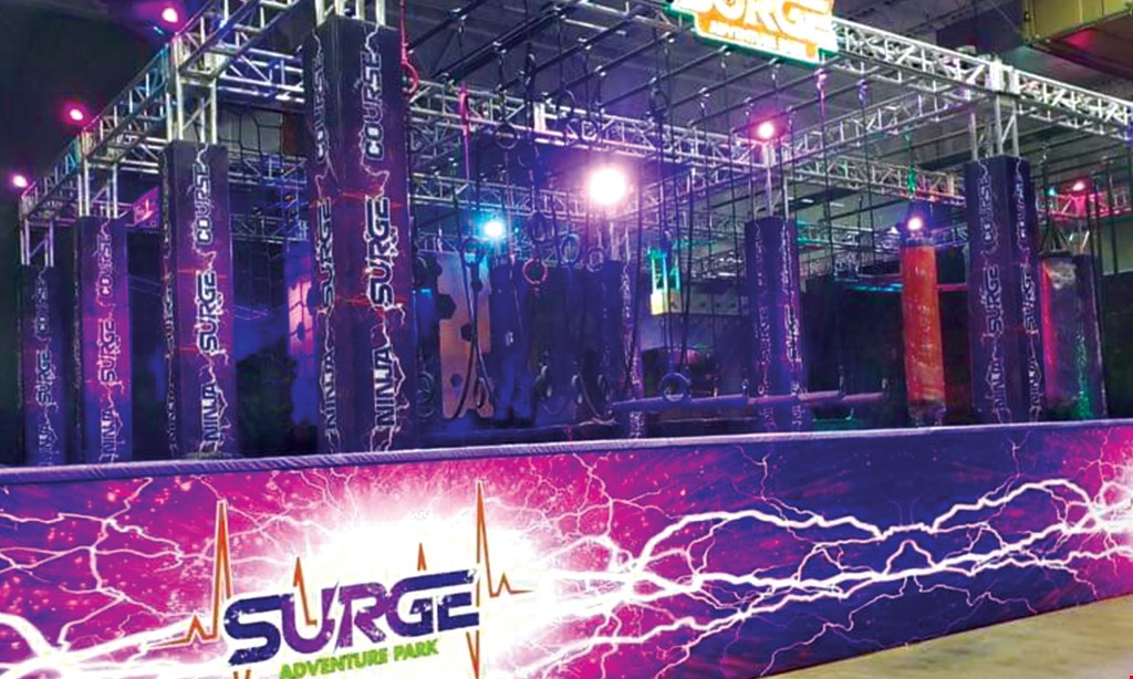 Product image for Surge Adventure Park $15 for $30 of Adventure Fun