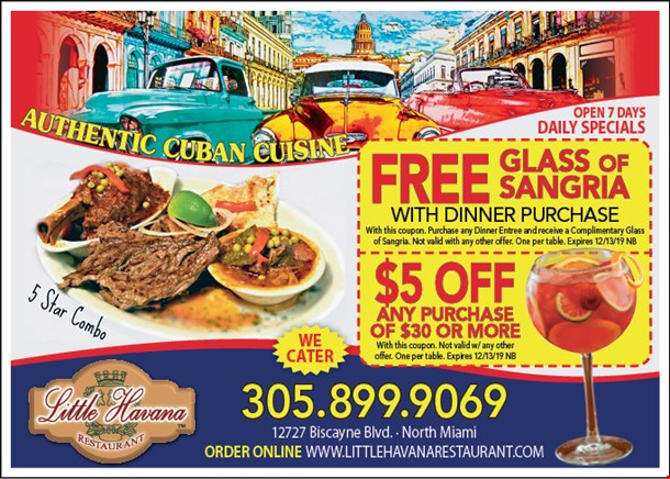 Localflavorcom Little Havana Restaurant Coupons