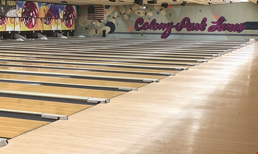 Product image for Colony Park Lanes $29 For A 2-Hour Unlimited Bowling Package For 4 People (Reg. $65)