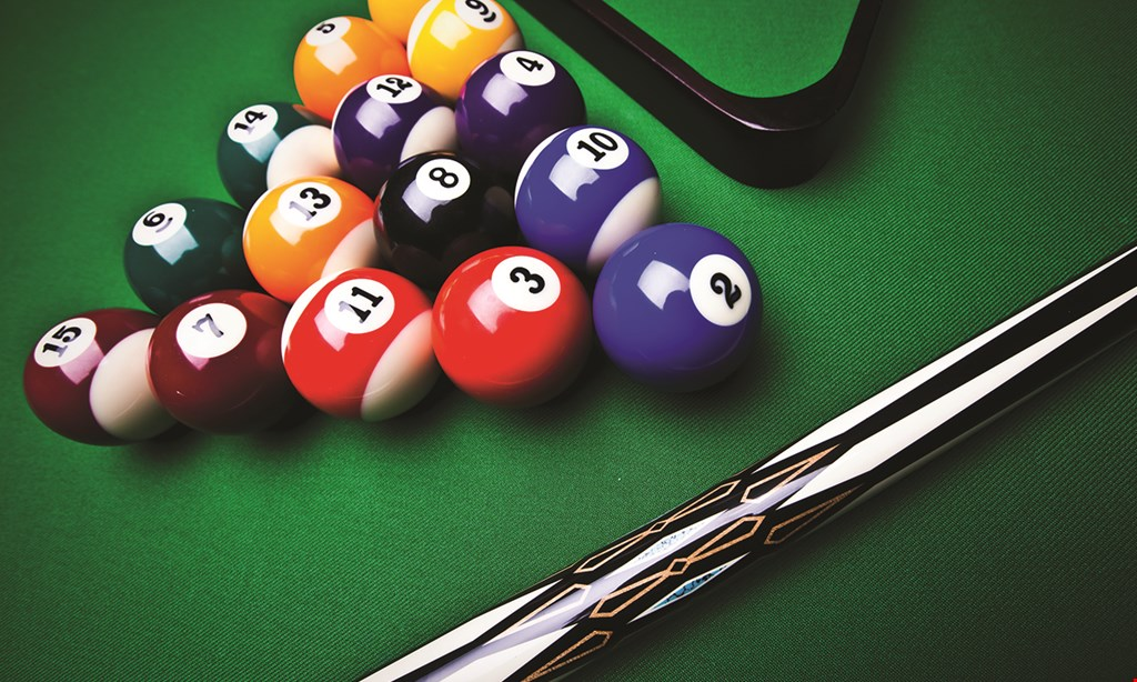 Product image for Salt City Billiards $13 For Play-All-Day Pool For 2 People Including 2 Appetizers (Reg. $26)