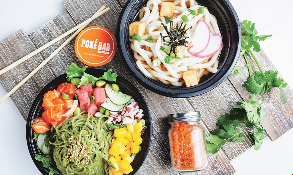 Product image for Poke Bar $15 For $30 Worth Of Casual Dining