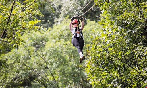 Product image for Tree Frog Canopy Tours $85 For 1 Zip Line Tour For 2 People (Reg. $170)