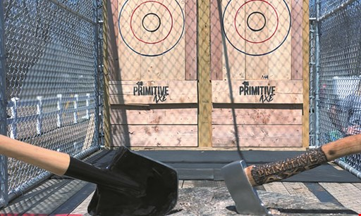 Product image for Primitive Axe $25 For A 1-Hour Axe Throwing Session For 2 People (Reg. $50)