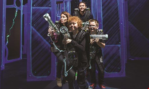 Product image for Laser Quest - Akron $17 For 2 Games Of Laser Tag Per Person For 2 People (Reg. $34)