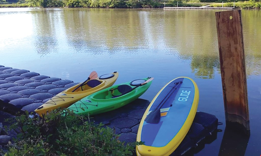 Product image for Lock 32 Whitewater Park $30 For 2 Hours of Kayaking Or Stand-Up Paddle Boarding For 2 (Reg. $60)