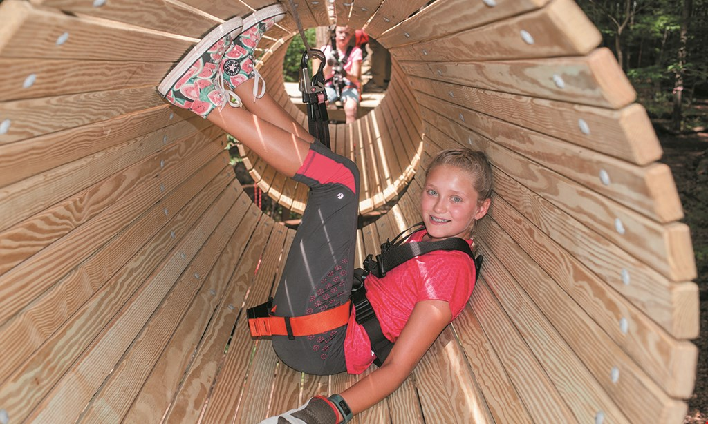 Product image for ZipZone Outdoor Adventures $23 For One Adventure Park Pass Or Zip Rush Tour (Reg. $46)