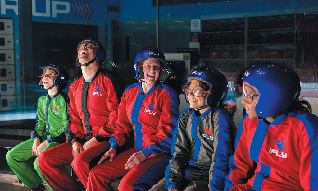 Product image for iFLY Indoor Skydiving - Rosemont $37.48 For 1 Takeoff Experience Flight For 2 Minutes (Reg. $74.95)
