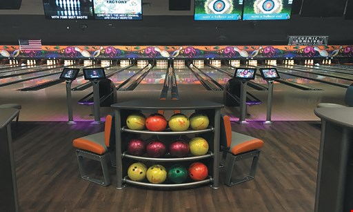 Product image for 10 Pin Alley $24.97 For Basic Plus Special 1 Lane For 2 Hours Unlimited Bowling For Up To 5 People With Rental Shoes (Reg $49.95)