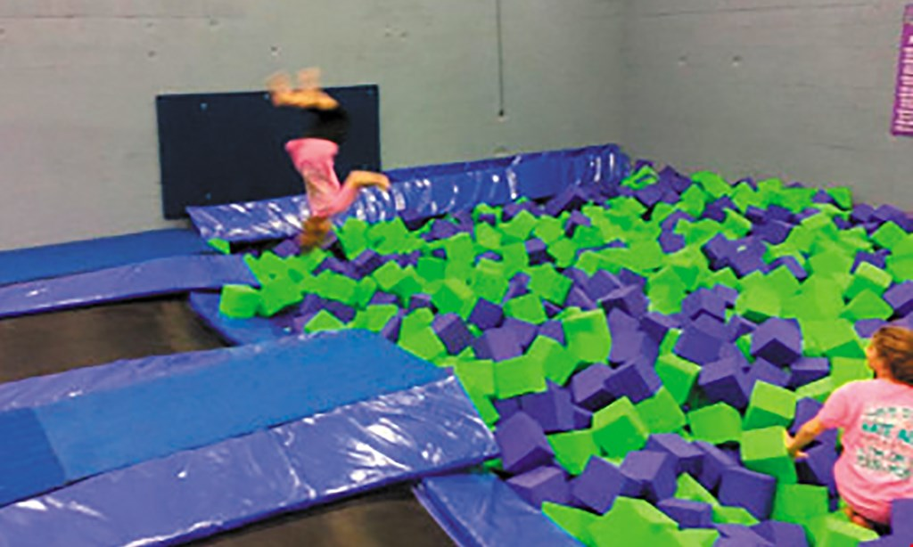 Product image for Steel City Jump $12 For A 60-Minute Jump Session For 2 (Reg. $24)