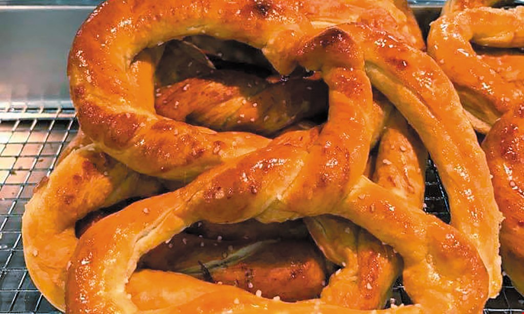 Product image for Dutch Country Hand-Rolled Soft Pretzels (Mount Joy) $10 For $20 Worth Of Hand-Rolled Soft Pretzels, Ice Cream Treats & More (Purchaser Will Receive 2-$10 Certificates)