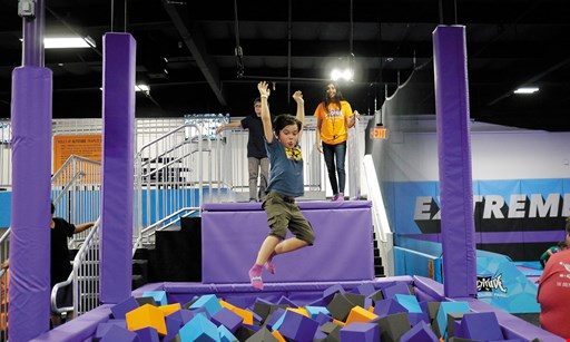 Product image for Altitude Trampoline Park $13.99 For A For 60-Minute Jump Session For 2 (Socks Not Included) (Reg. $27.98)