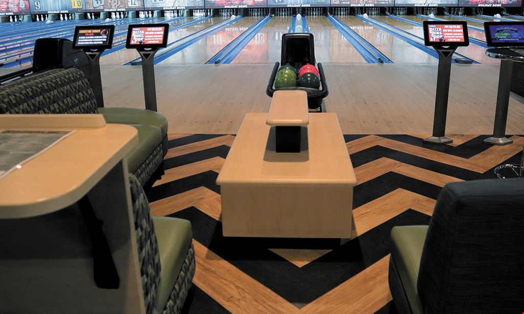 Product image for Holiday Bowl $30 For 1 Hour Of Bowling With Shoe Rental For 4 (Reg. $63)