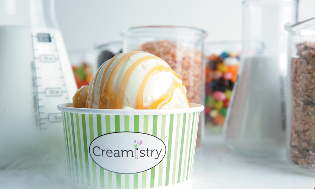 Product image for Creamistry Clairemont Mesa $10 For $20 Worth Of Ice Cream Treats & More