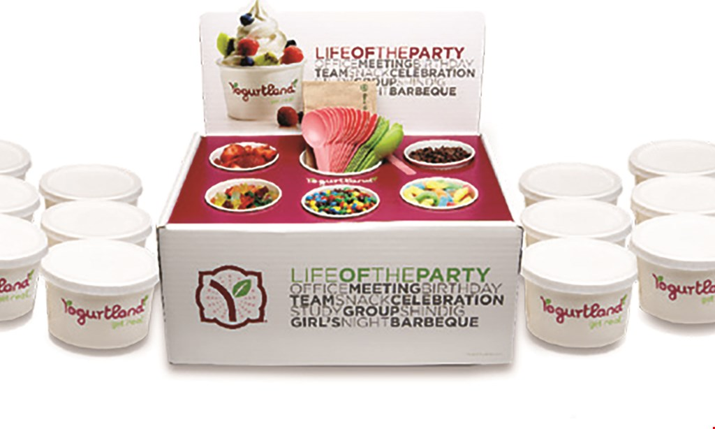 Product image for Yogurtland - Midtown $10 For $20 Worth Of Frozen Yogurt