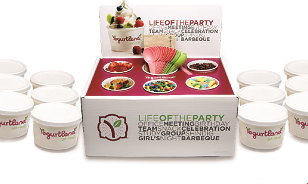 Product image for Yogurtland - Plaza Mexico $10 For $20 Worth Of Frozen Yogurt