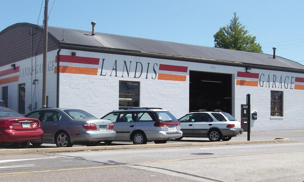 Product image for Landis Garage $17.99 For A PA State Inspection & Emissions (Includes All Stickers) (Reg. $72.08)