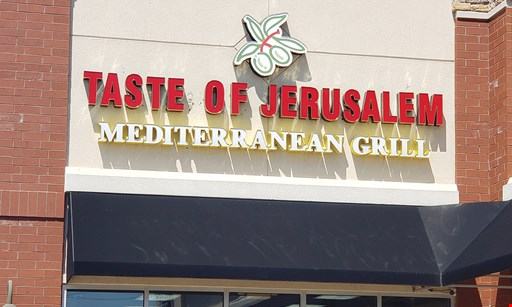 Product image for Taste of Jerusalem $10 For $20 Worth Of Mediterranean Cuisine