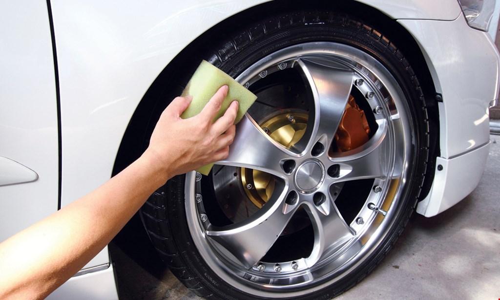 Product image for Goshen Car Wash & Oil Express | Goshen Auto & Tire $79.97 For A Bumper-To-Bumper Full Detail Service (Reg. $159.95)