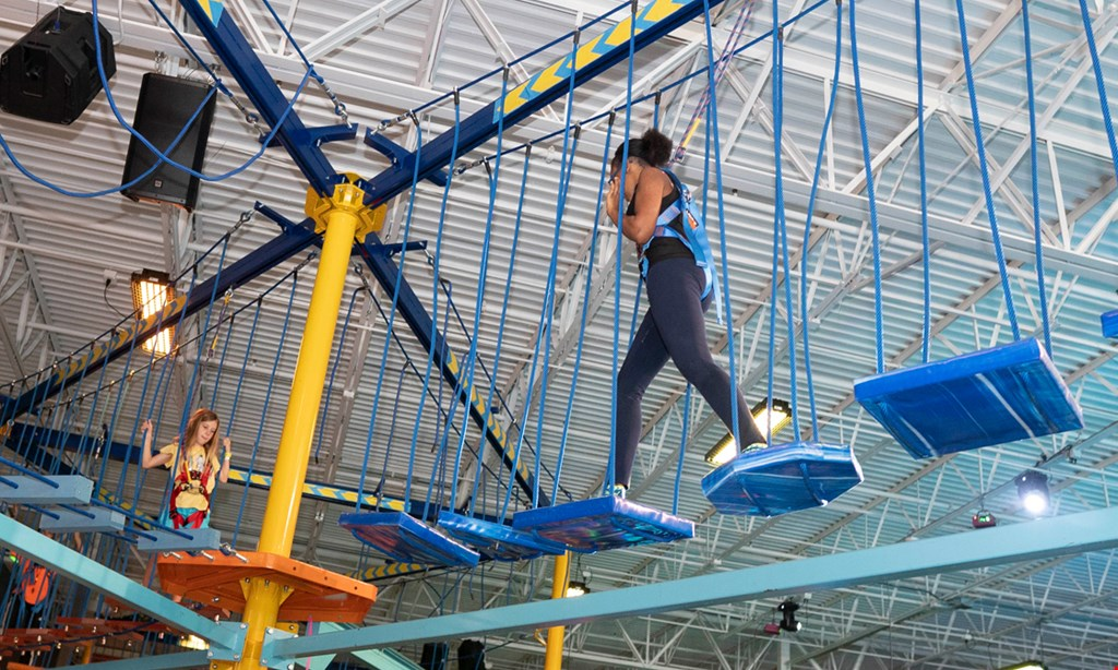 Product image for Urban Air Adventure Park $215 for One Platinum Birthday Package - up to 10 people (Reg. $430)