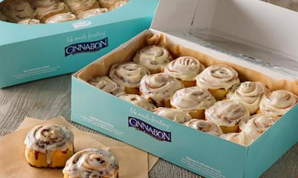 Product image for Cinnabon $10 For $20 Worth Of Bakery Items
