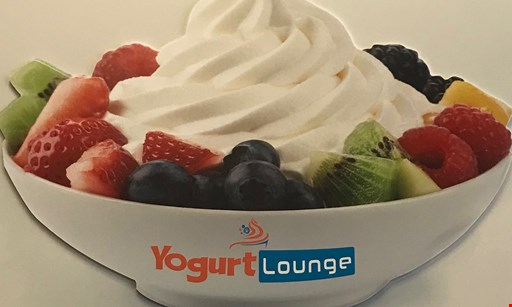 Product image for Yogurt Lounge $10 For $20 Worth Of Frozen Yogurt & More