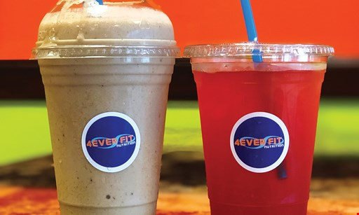 Product image for 4Ever Fit Nutrition $10 For $20 Worth Of Smoothies & More