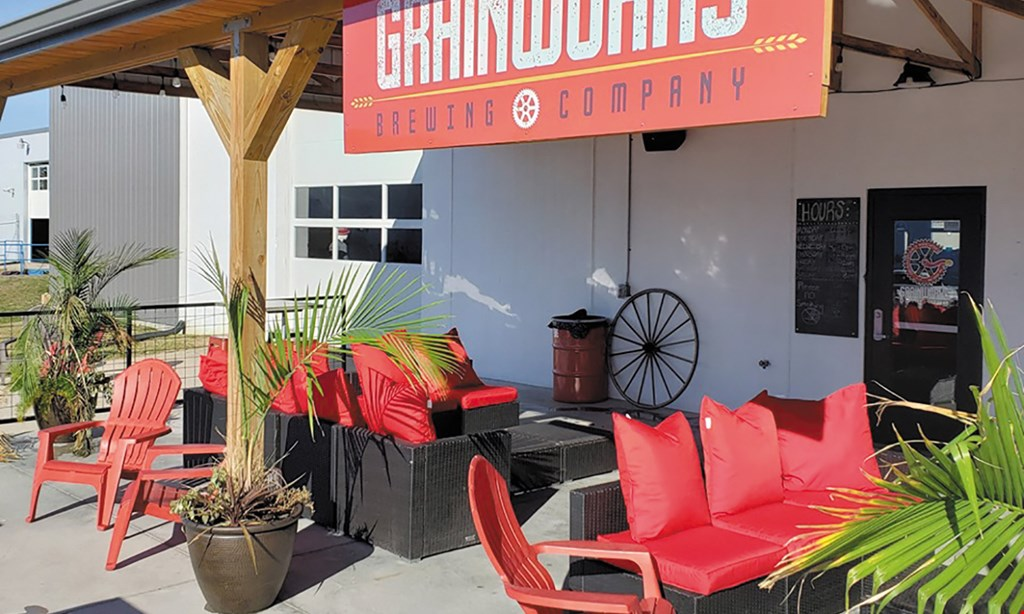 Product image for Grainworks Brewing Company $13 For A Flight Tasting Package For 2 People (Includes 2 Flights & 2 Souvenir Glasses) (Reg. $26)