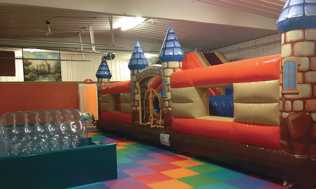 Product image for Kidz Kingdom $12.99 For 2 Indoor Playground Admissions (Reg. $25.98)