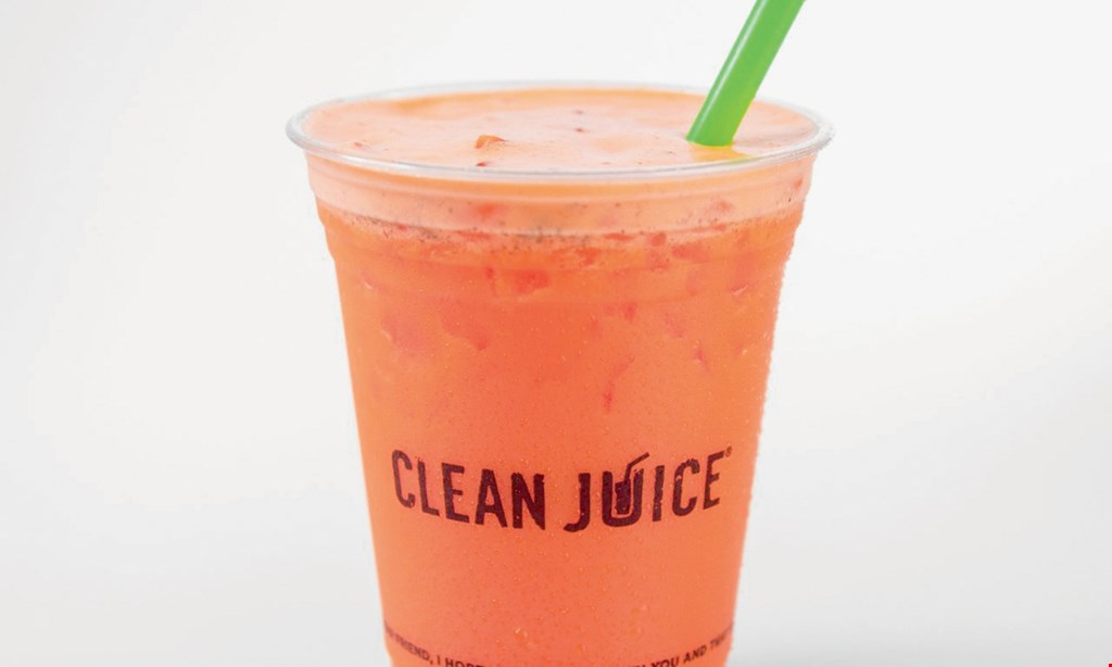 Product image for Clean Juice Wynnewood $10 For $20 Worth Of Juices, Smoothies & More
